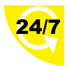 24 hr. service
