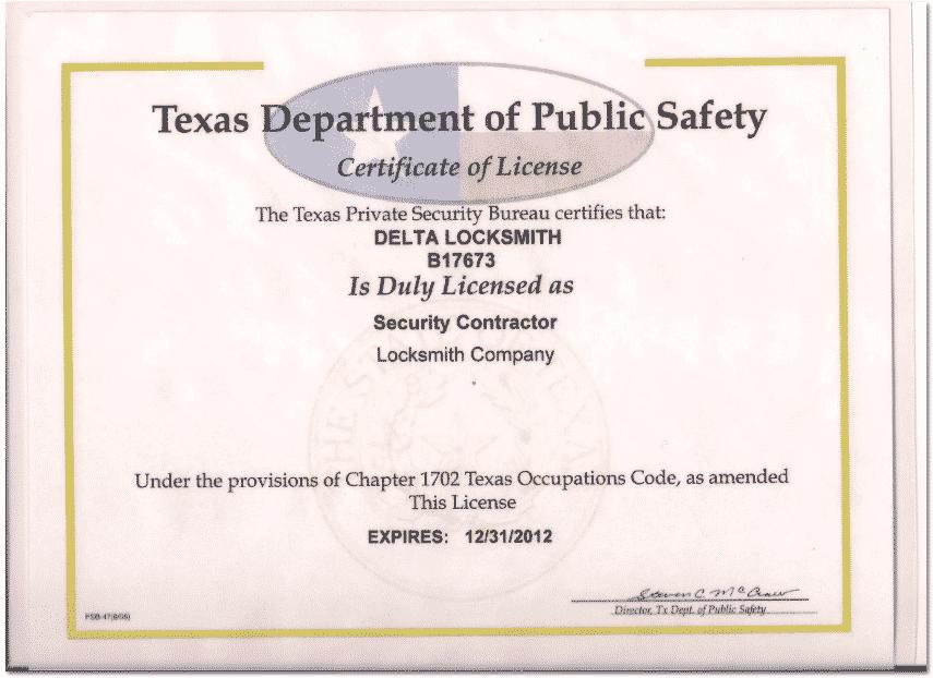 Security Contractor Dallas | (713) 481-5830 | 24 Hr Locksmith