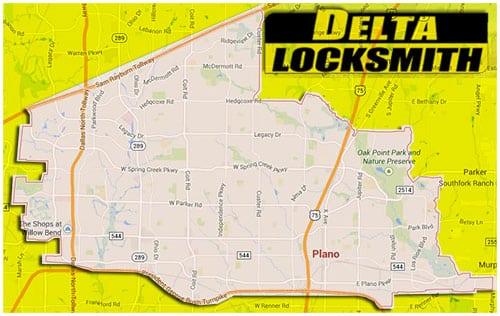 Delta locksmith in Plano, TX